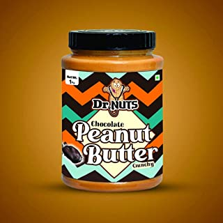 DR NUTS Chocolate Peanut Butter 1kg (Crunchy)