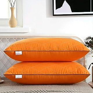 HASSTEX Paquet d'oreillers d'hôtel de 1 Oreiller Standard 48cm x 74cm, Oreiller Anti-poussière Oreiller Respirant Oreiller...
