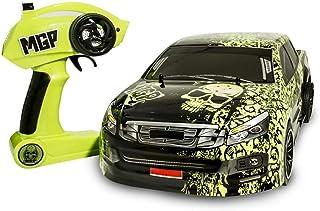 MICEROSHE Fjärrkontroll bilar Hammaren 10,01 2,4 G 2WD Rc Model Car On-Road Pick-up Truck RTR fordon (färg: Grön, storlek:...