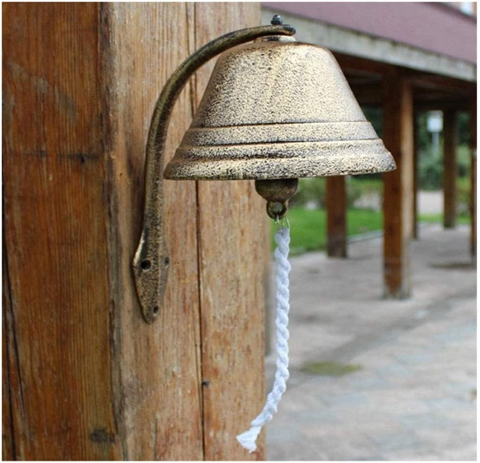 National uniform Wholesale free shipping LXING Antique Decor Bell Do Doorbell Outdoor Dinner