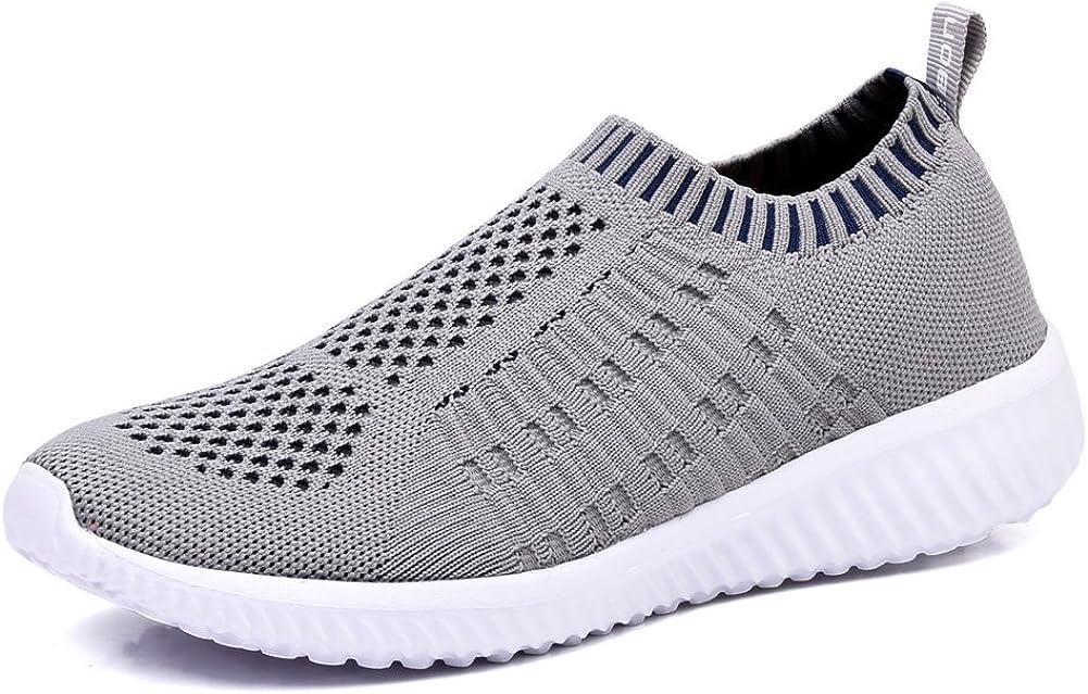 TIOSEBON Women's Athletic Walking Shoes Casual Mesh-Comfortable Work Sneakers