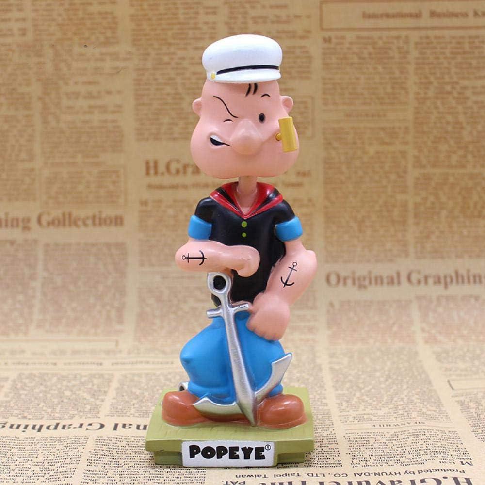 Popeye The Sailor Man Wacky Ranking TOP13 Wobbler PVC Action Oklahoma City Mall Bobble Figur Head