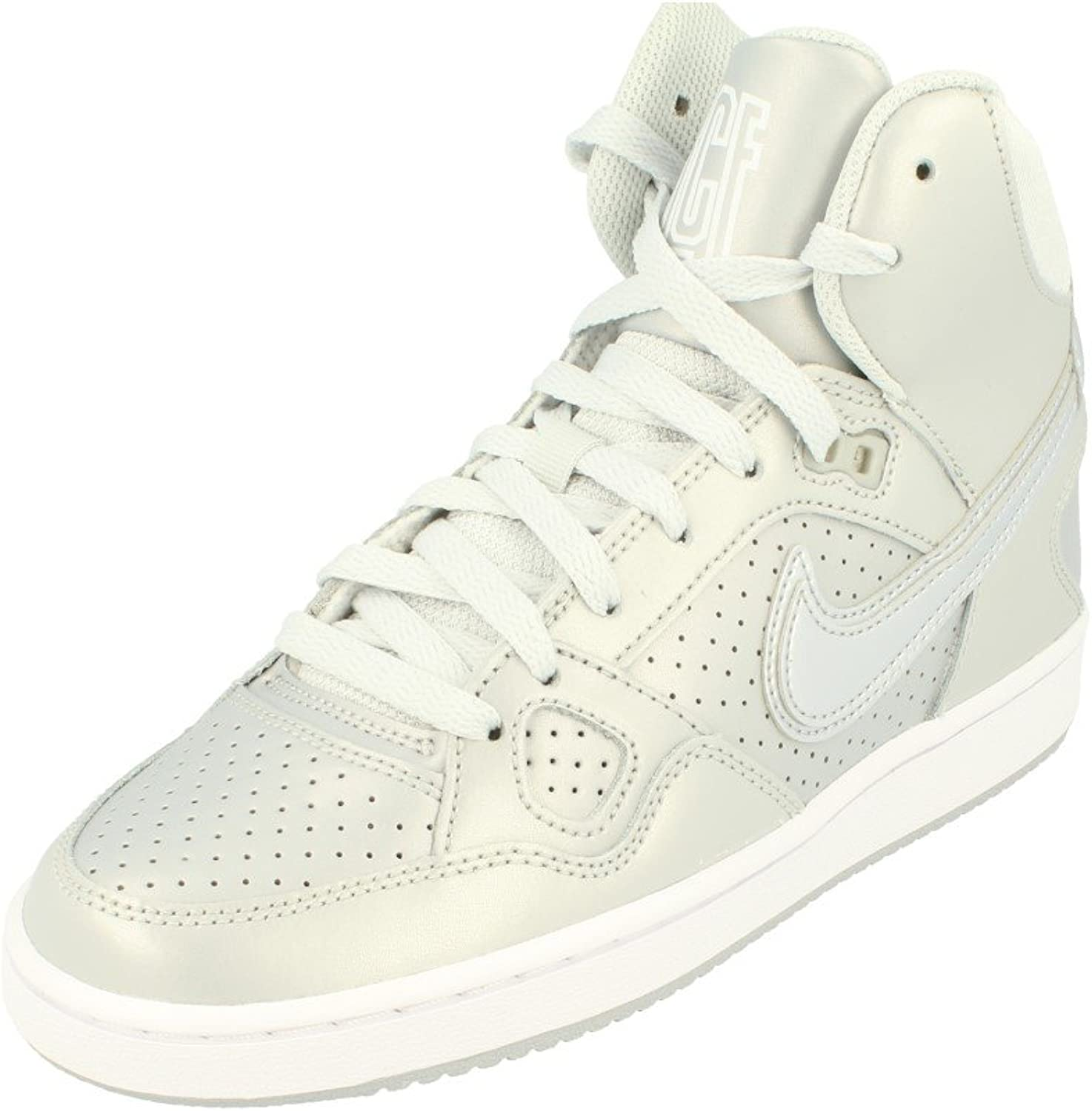 Nike Women's Son Of Force Mid Mid-Top Leather Basketball shoes