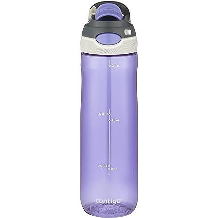Contigo 74077ZCN AUTOSPOUT Chug Water Bottle, 24 oz, Grapevine