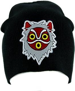 db7fbbea Princess Mononoke San Wolf Mask Beanie Knit Cap Alternative Clothing Anime