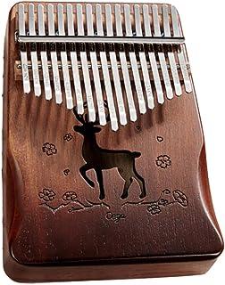 Kalimba Marimbas 17 touches - De Haute Qualité Doigt Pouce Piano Instrument de Musique Cadeau - Marimbas d'orchestre