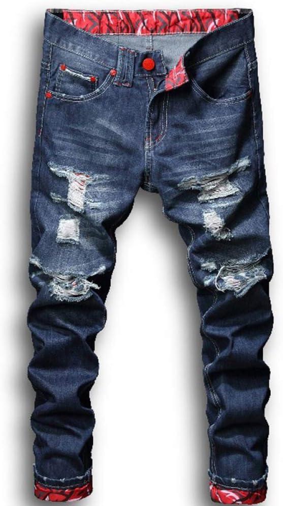 Loeay Uomo Dipinto ad Olio Carattere Stampa Jeans Aderenti Streetwear Parrucchiere Ballerino Cantante Hip-Hop Pantaloni da Jogging Pantaloni