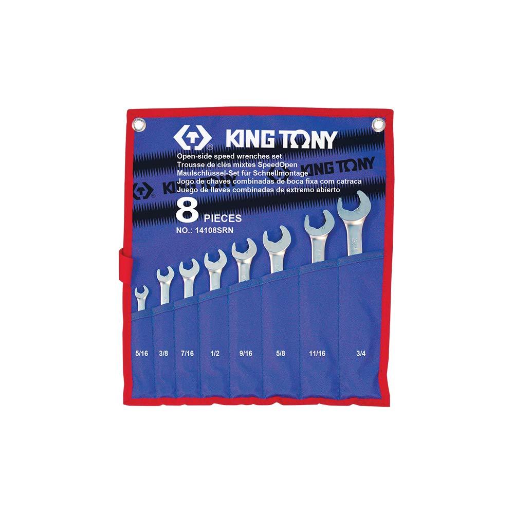 Tony 14108SR King-Estuche de Llaves combinadas Speedopen Juego de 8: Amazon.es: Coche y moto