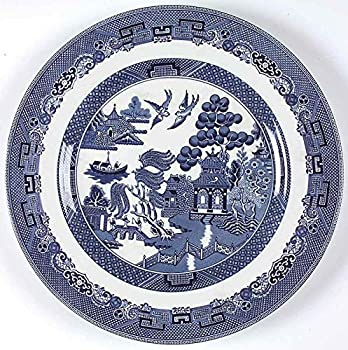 Johnson Brothers Willow Blue 11  Dinner Plates - Set of 6