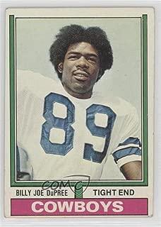Billy Joe DuPree (Football Card) 1974 Topps - [Base] #277