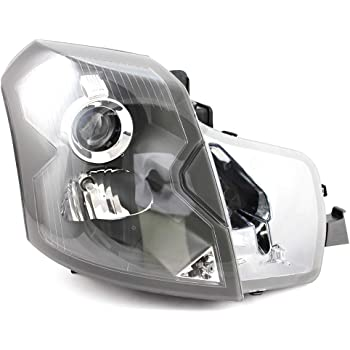 JP Auto Headlight Compatible With Cadillac Cts 2003 2004 2005 2006 2007 Passenger Right Side Headlamp