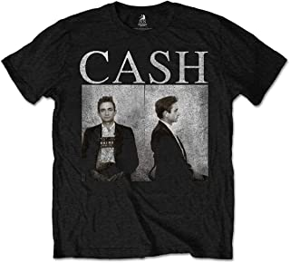 Johnny Cash Men's Mug Shots T-Shirt