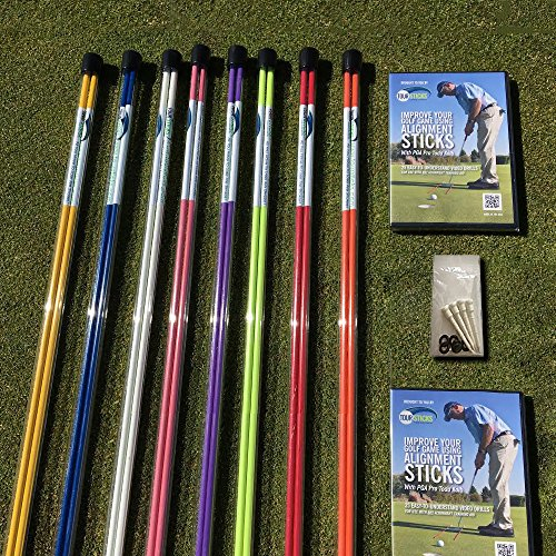 Tour Sticks TS314BK Golf Alignment Stick (Black)
