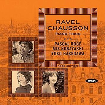 Ravel & Chausson Piano Trios