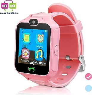 Smart Watch for Kids SmartWatch Phone Boys Girls SIM SD Slot Unlocked Waterproof SOS Phone Watch Camera Games Touchscreen Children Cell Watch Holiday Birthday Gift