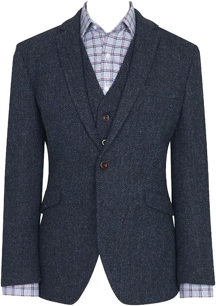 The Scotland Kilt Company Harris Tweed Mens Stranraer Harris Tweed Jacket Blazer