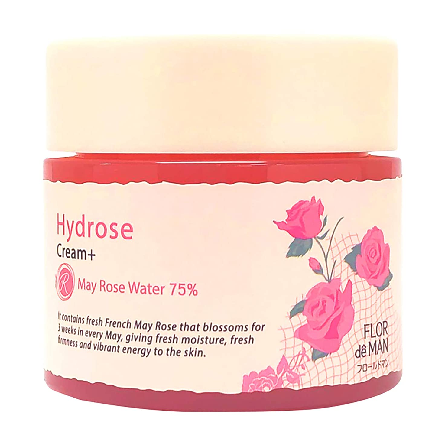簡単に密接にパレードHydrose オールインワン 生バラ水分クリーム ローズの香り 100ml