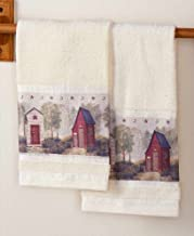 The Lakeside Collection Set of 2 Outhouse Hand Towels