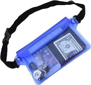 کیسه ضد آب کینگدو با بند کمر بهترین بند کیسه ای خشک برای نگه داشتن تلفن و ارزش های مناسب و بی نقص مناسب برای قایقرانی در شنا های اسنکریلینگ ساحل کایاکینگ پارک های آبی ساحلی