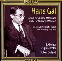 Musik for Mandolin/Capriccio Sinfonietta