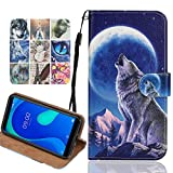 Langlee Case for OUKITEL C19 (2020), PU Leather Wallet Case