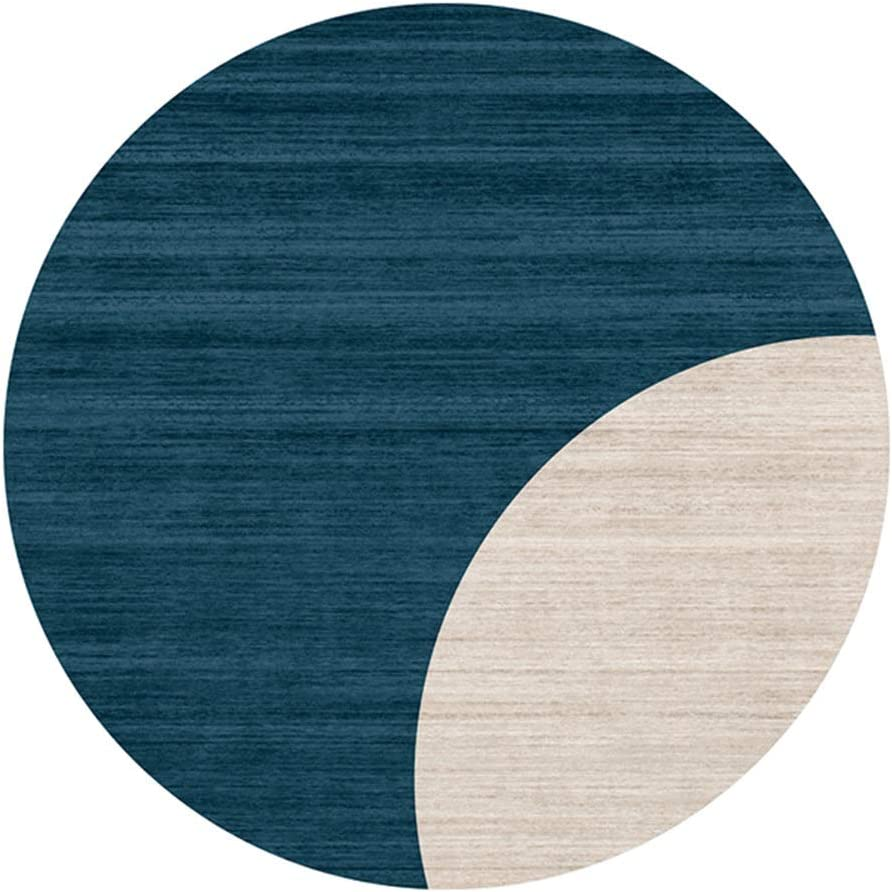 JIAYING Area Rugs Modern Round Memphis Mall Non-Slip Rug Super Limited price Soft