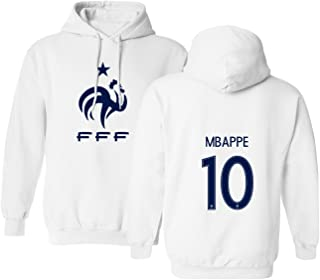 Tcamp France 2018 National Soccer #10 Kylian MBAPPE World Championship Men's Hooded Sweatshirt