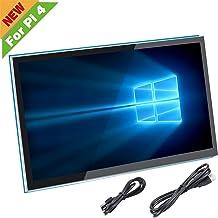 para Pantalla Raspberry Pi 4, Monitor de Pantalla táctil capacitiva HDMI de 5 Pulgadas - Pantalla LCD HD de 800x480 (Compatible con Pi 4 y Pi 3 B +, Windows)