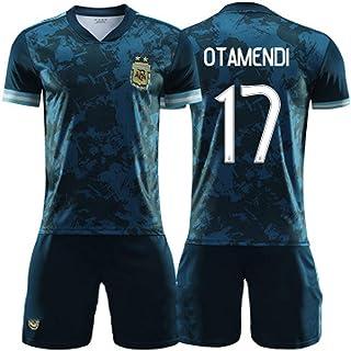 Camiseta de fútbol, Di Maria Dybala Otamendi, Camisetas de la Selección Argentina, 2020-2021 Visitante, Adultos y niños, Entrenamiento de Partidos, Personalizado