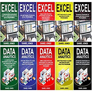 Programming for Beginners: 10 Books in 1- 5 Books of Excel Programming+ 5 Books of Data Analytics                   By:                                                                                                                                 Daniel Jones                               Narrated by:                                                                                                                                 William Bahl                      Length: 15 hrs and 5 mins     Not rated yet     Overall 0.0