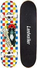 Landwalker Pro Cruiser Complete Girl Skateboard 31x8 Inch Skateboards Skateboard