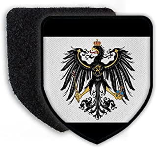 Prussian flag Eagle Old Germany coat of arms badge - Patch/Patches