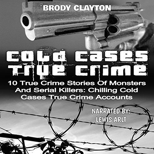 Cold Cases True Crime audiobook cover art