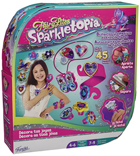 Sparkletopia Fairy Jewelery Set, kit de joyería (Famosa 700013253)