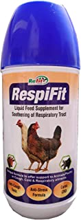 REFIT ANIMAL CARE - Cattle and Poultry Respiratory Medicine Supplement for Cough (RESPIFIT - 1 LTR.)