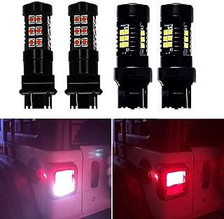 Jeep Wrangler JL LED Tail lights/Turn Signal LEDs Backup Lights Running Lights for 2018-2019 Jeep Wrangler JL,  Pack of 4
