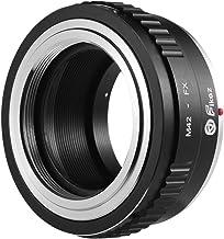 M42-FX Lens Mount Adapter Ring Aluminum Alloy Compatible with Pentax Praktica Zenit M42 Screw Mount Lens to Fuji
