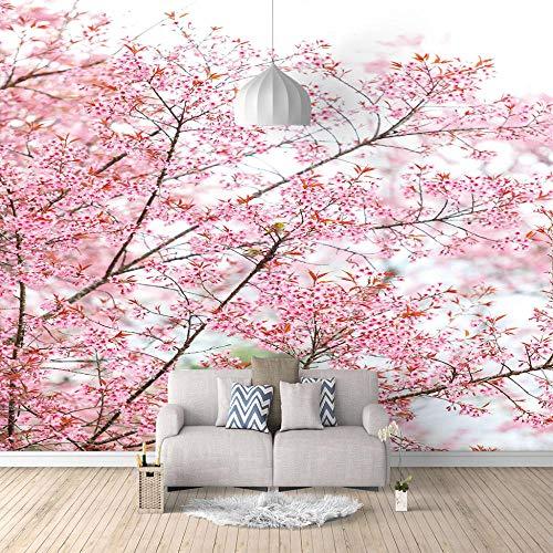 Fototapeten Tokio Kirschblüten 350x256cm Vlies Wand Tapete Wohnzimmer Schlafzimmer Büro Flur Dekoration Wandbilder Moderne Wanddeko