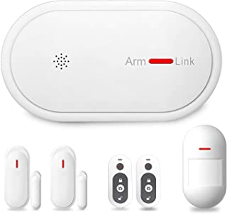Eslibai 2G Wireless Home and Business Security Alarm System, 433MHz GSM&WiFi Smart Security System DIY Kits,Burglar Alarm with Auto Dial and APP Remote Control