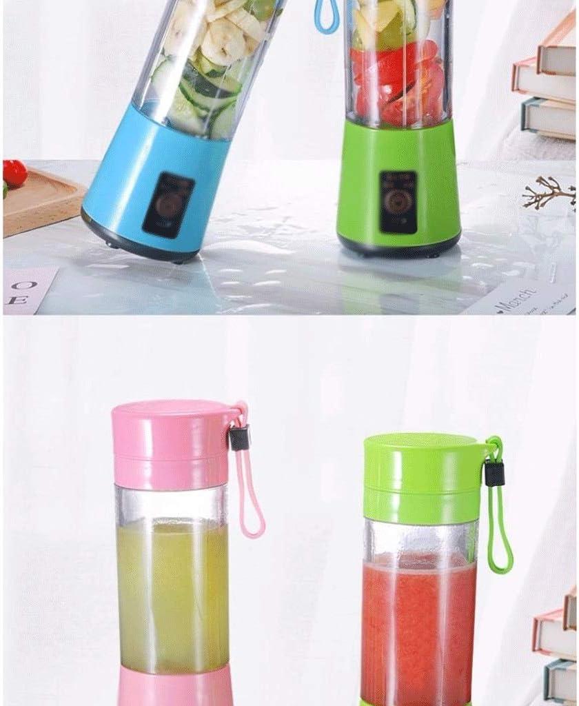 MBBJJ HFFTLH Exprimidor eléctrico portátil Máquina Multifuncional de cocción de Alimentos de Doble Taza Máquina exprimidora automática de jugos, B (Color : D) D