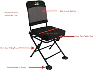 All About AntlerZ Comfort 360 Deer Turkey Hunting Blind Chair