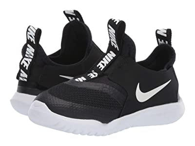 Nike Kids Flex Runner (Infant/Toddler) (Black/White) Kids Shoes
