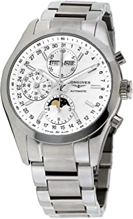 Longines Conquest Classic Silver Dial Stainless Steel Men's Watch L27984726