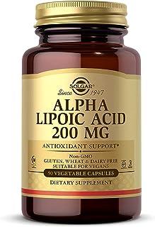 Solgar Alpha Lipoic Acid 200 mg, 50 Capsules