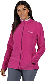 Regatta Women's Clemance II' Full-Zip Active Hiking Symmetry Fleece, Vivid Viola/Light Steel, 4XL