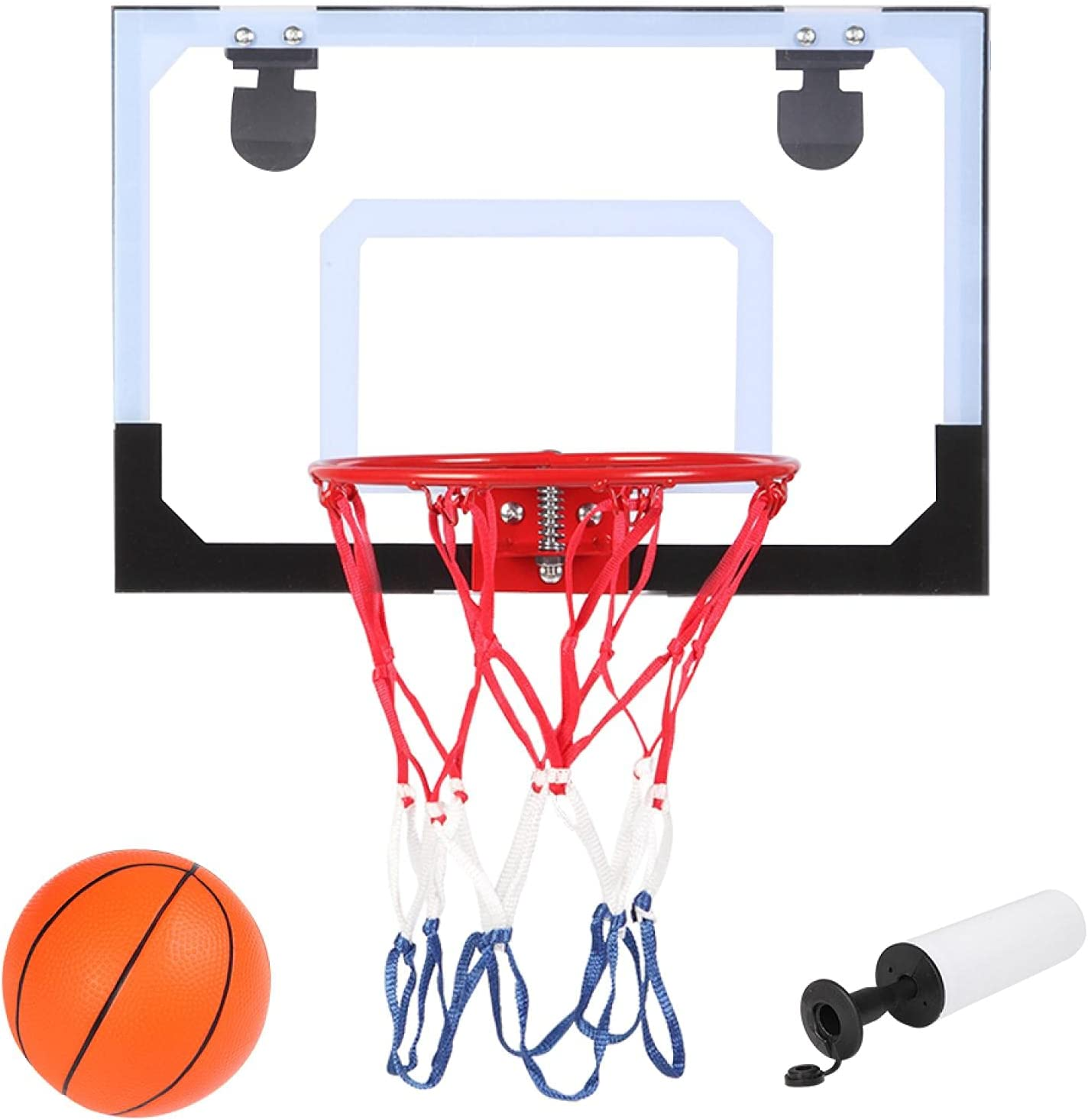 Over The Door Mini OFFicial shop Very popular! Basketball Hoop - Indoor Wall 12 Mounted x 16