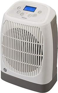 Bimar Calefactor Electrico Smart HF206, Calentador de Ventilador Eléctrico de Bajo Consumo, Control de Funciones con WI-FI, Compatible con Alexa y Google Assistant, Oscilaciòn Derecha/Izquierda