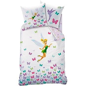 63x63 140x200 Decokids Princesse + Taie doreiller - 100/% Coton Parure de lit : Housse de Couette