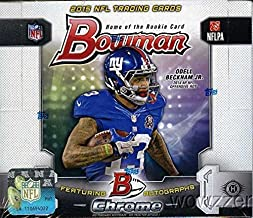 2015 bowman chrome football hobby box