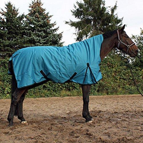 jw reitsport Highneck Winterdecke 300gr aquamarin 145 cm